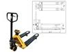 PALLET WEIGH PALLET JACK SCALE